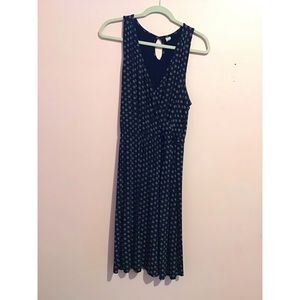 Gap Navy Blue V-Neck Dress